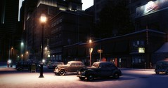 Night Lights / Mafia II (Den7on) Tags: mafia 2 bokeh 2k czech night lights
