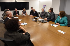 """Secretary Price Visits AHRQ (HHS Secretary Tom Price, M.D.) Tags: """"tom pricehhs secretaryhhsdr price """"health human services secretary"""" """"secretary price"""" ahrq """"agency for healthcare research quality"""" """"substance abuse mental health administration"""" resources """"indian service"""" samhsa hrsa ihs"""
