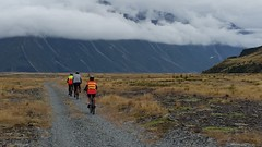 Alps to Ocean bike ride. Aorangi Mount Cook to Oamaru. South Island New Zealand. March 2017 (spiceontour) Tags: alpstoocean puretrails newzealand mountcook 2017 aorangi spiceontour kiwimacca