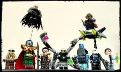 """Spider- Baddies """"KreePverse"""" (Korpsical666) Tags: marvel villain sinister six spiderman lego minifigure custom"""