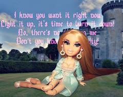👑 Don't you know, I'm the queen, yeah, yeah, yeah, yeah! 👑 (Bratzjaderox™) Tags: queen gabi gabriella galaxy miss princess gery nikol bratz ooak reroot fierce makeup model bff4 bff3 winner slayed you hoes doll barbie myscene mga mgae mattel