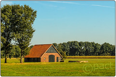 barn in field (paul kamphuis) Tags: overijssel landscape architecture twente building agriculturalbuilding barn land environment countryside europe netherlands scenery holland architectural architectuur ecology ecosystem edifice edifices environmentalism landschap nature ruralarea structures