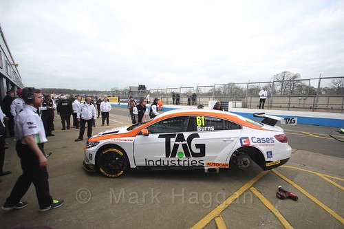 Will Burns at the BTCC Media Day 2017