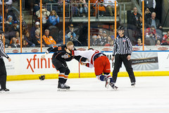 "Missouri Mavericks vs. Allen Americans, March 10, 2017, Silverstein Eye Centers Arena, Independence, Missouri.  Photo: © John Howe / Howe Creative Photography, all rights reserved 2017 • <a style=""font-size:0.8em;"" href=""http://www.flickr.com/photos/134016632@N02/33366124496/"" target=""_blank"">View on Flickr</a>"
