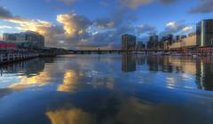 Sydney Darling Harbour (S♡C) Tags: sydney darlingharbour cocklebaywharf australia sunset reflections