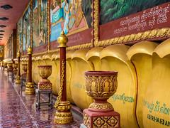P1300304 (ivanpecina1) Tags: cambodia angkor temple budist monk sunrise asia olympus micro43 monjes camboya amanecer 40150