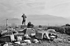 guardian (doggle) Tags: olympus35sp fujifilmneopanacros100 35mm film bw monochrome pompeii roman italy igormitoraj guardian hoyaorangegfilter