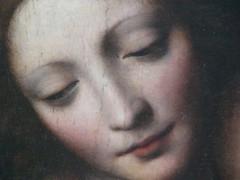 Detail of Bernardino Luini, Madonna and the Sleeping Child, 1532. (ArtAppreciated) Tags: fineart painting blogs tumblr artblogs artappreciated artoftheday artofdarkness artofdarknessco artofdarknessblog