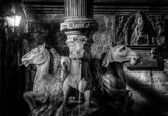 Fuente de los Caballos (Juan Figueirido) Tags: fuentedeloscaballos praterías prazadaspraterías plazadeplaterías santiagodecompostela catedraldesantiagodecompostela galicia caballos horses fuente fountain fz1000 blackandwhite spain españa elcamino theway