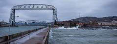 Rough Day (GrandView Virtual, LLC - Bill Pohlmann) Tags: galeforcewinds weather canalpark bigwaves duluthmn greatlakes lakesuperior minnesota