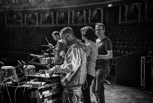 Soundcheck at the Royal Albert Hall, London