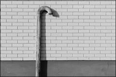 DSC_1130-Edit (vargandras) Tags: wall pipe bw blackandwhite monochrome abstract