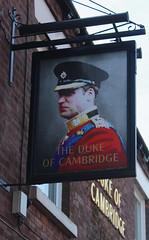 English Pub Sign - The Duke of Cambridge, St Helens (big_jeff_leo) Tags: sthelens england english streetart sign painted art pub bar tavern