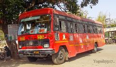 Arvi - Latur (yogeshyp) Tags: msrtc maharashtrastatetransport msrtcparivartanbus arvidepotbus arvilaturstbus