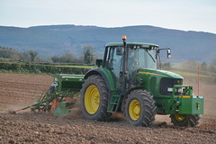 John Deere 6820 Tractor with an Amazone AD303 Special Seed Drill & Power Harrow (Shane Casey CK25) Tags: john deere 6820 tractor amazone ad303 special seed drill power harrow jd green castletownroche spring barley sow sowing set setting drilling tillage till tilling plant planting crop crops cereal cereals county cork ireland irish farm farmer farming agri agriculture contractor field ground soil dirt earth dust work working horse horsepower hp pull pulling machine machinery grow growing nikon d7100 traktor tracteur traktori trekker trator ciągnik