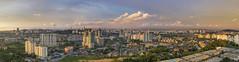 Sunset Kuala Lumpur (haqiqimeraat) Tags: kl kualalumpur malaysia panorama wideopen colours landscape scenic light sunset clouds nikon 2485 cityscape