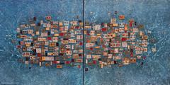 cm160x80_diptych_Primavera_Italiana_painting_Anna_Piratti (Anna Piratti) Tags: art visualart fineart painting exhibition acrylic facetoface galeriemariedemange brussels