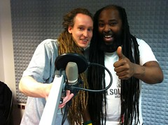 who's got longer Dreads? (P-Nut276) Tags: dreadlocks radio howard dreads mighty leinehertz1065