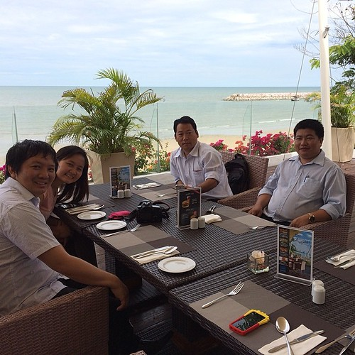 Kachin Life Stories workshop lunch @Cha-Am, Hua Hin. #kachin #kachinlifestories #klsworkshop