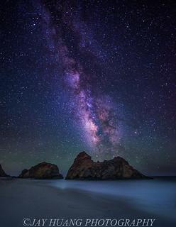 Milky Way At Pfeiffer Beach