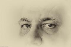I (Christian Hoemke) Tags: portrait blackwhite canonef50mmf18ii canoneos1000d silverefexpro2 lightroom5