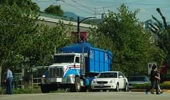 Vancouver BC (Ian Threlkeld) Tags: canada vancouver nikon bc broadway refuse cambie garbagetrucks wastedisposal d80 wasteremoval supersavedisposal