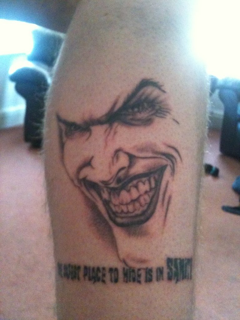 Crazy Joker Faces Tattoos Www Topsimages Com