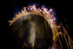 (WandrComplex) Tags: light wallpaper blur painting stars fire san francisco long exposure fireworks robe background space magic 4th july fade sparks