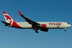 C-FMXC (Air Canada - rouge) (Steelhead 2010) Tags: rouge boeing yyz aircanada b767 b767300er creg cfmxc