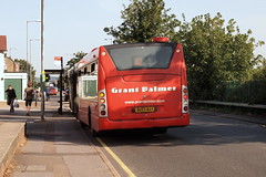 Grant Palmer Scania BU53WAY (Rear) (Mark Bowerbank) Tags: grant rear palmer scania bu53way