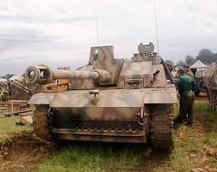 StuG III (MJ_100) Tags: show germany wwii german armor ww2 armour secondworldwar sturmgeschutz revival warandpeace wehrmacht stugiii stug tankdestroyer assaultgun
