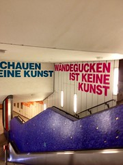 U-Bahn station Dom/Rmer (Cali-Claudi) Tags: frankfurt ubahn 2014 iphone4s