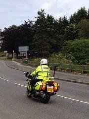 Police scotland motorcyclist (dav.munro) Tags: uk scotland aberdeenshire fast police motorbike gb emergency 999 polis turriff