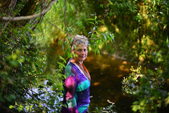 Secret waters..... (Dafydd Penguin) Tags: uk portrait england people woman colour lady river bristol 50mm nikon stream bokeh secret waters af nikkor avon fifty nifty d600 f14d