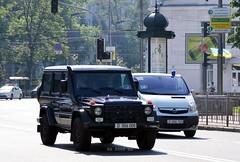 D006008 + D006124 (Vetal_888) Tags: mercedes cd guard ukraine kyiv gclass armoredvehicle україна geländewagen київ corpsdiplomatique d006 w461 diplomaticlicenseplates дипломатичніномернізнаки d006008