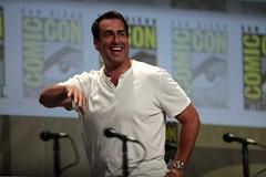 Rob Riggle (Gage Skidmore) Tags: california michael san key comic cops lets diego center rob convention be keegan nina damon con 2014 wayans riggle dobrev