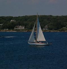 Sail Away (Kadeefoto) Tags: ocean beach sailboat boat capeneddick shortsandsbeach yorkme