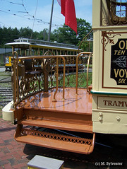 Montreal Tramways Car 2 Returns (MarkSylvester) Tags: 2 usa museum trolley maine tram kennebunkport streetcar montral passnger