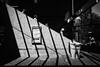 Paper plane (. Jianwei .) Tags: street light shadow vancouver pattern geometry line skytrain nex kemily