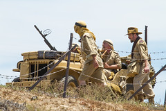 2014 Old Fort MacArthur Days (PhantomPhan1974 Photography) Tags: ford losangeles jeep tunisia wwii sanpedro reenactors battles fortmacarthur oldfortmacarthurdays fortmacarthurmuseum