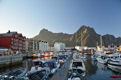 (_Marcel_) Tags: mountains norway harbour norwegen berge hafen lofoten svolvr