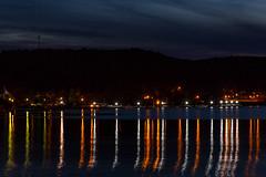 MunisingSouthBayFireworks-20140704-07 (Frank Kloskowski) Tags: reflection michigan fourthofjuly southbay lakesuperior munising pnight