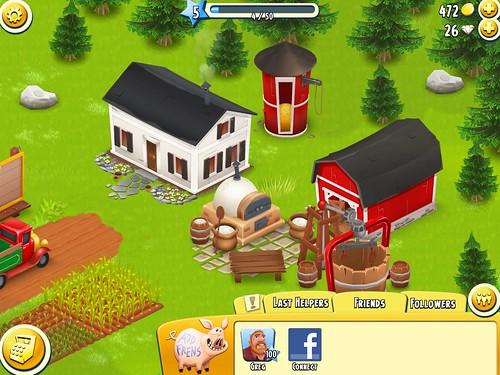 Hay Day Social: screenshots, UI