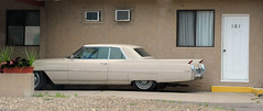 1964 Cadillac Coupe DeVille (D70) Tags: door white canada hardtop yellow bc cadillac 101 step deville coupe osoyoos 1964 2door 1961–1964