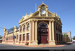 Town Hall, York, Western Australia, Australia (JH_1982) Tags: york city building clock architecture town hall australia landmark historic western wa australien occidentale australie occidental austrália 澳大利亚 australië オーストラリア австралия 오스트레일리아 주 西オーストラリア州 australieoccidentale западная ऑस्ट्रेलिया 西澳大利亚州 웨스턴오스트레일리아 पश्चिमी
