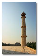 Agra IND - Taj Mahal Minarett 06