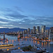 Canada - Vancouver - False Creek, Burrard Bridge