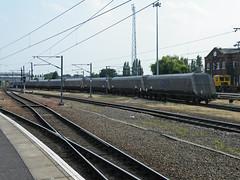 371054 Doncaster 170713 (Dan86401) Tags: wagon 371 coal hopper freight bogie doncaster hya gbrf europorte 371054 6b64