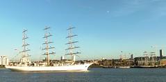 Dar Mlodziezy (5) @ Gallions Reach 03-09-14 (AJBC_1) Tags: uk england london boat ship unitedkingdom vessel tallship riverthames sailingship eastlondon gallionsreach northwoolwich newham darmlodziezy londonboroughofnewham ©ajc dlrblog sailroyalgreenwich2014 ©ajc