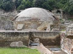 Archaeological Park of Baia. Temple of Echoes (davetonkin) Tags: archaeology roman romanruins baia ancientrome phlegraeanfields templeofecho lumixgvario1232f3556 archaeologicalparkofbaia